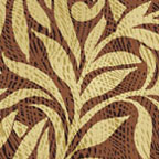 Damask Rust/Linen