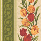 Tulip Stripe Red Multi