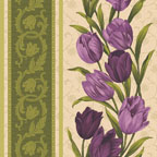 Tulip Stripe Purple