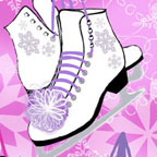 Ice Skates Pink