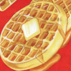 Waffles Red