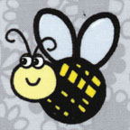 Buzzy Bee Gray