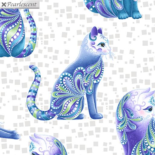 Cat-I-tude Singing the  Blues