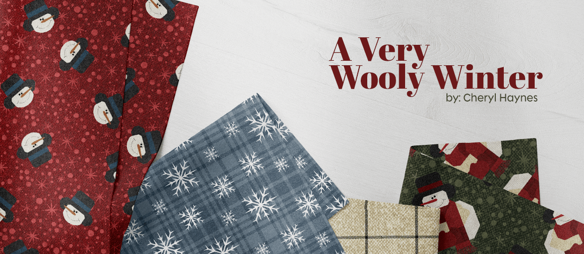 A Very Wooly Winter by Cheryl Haynes