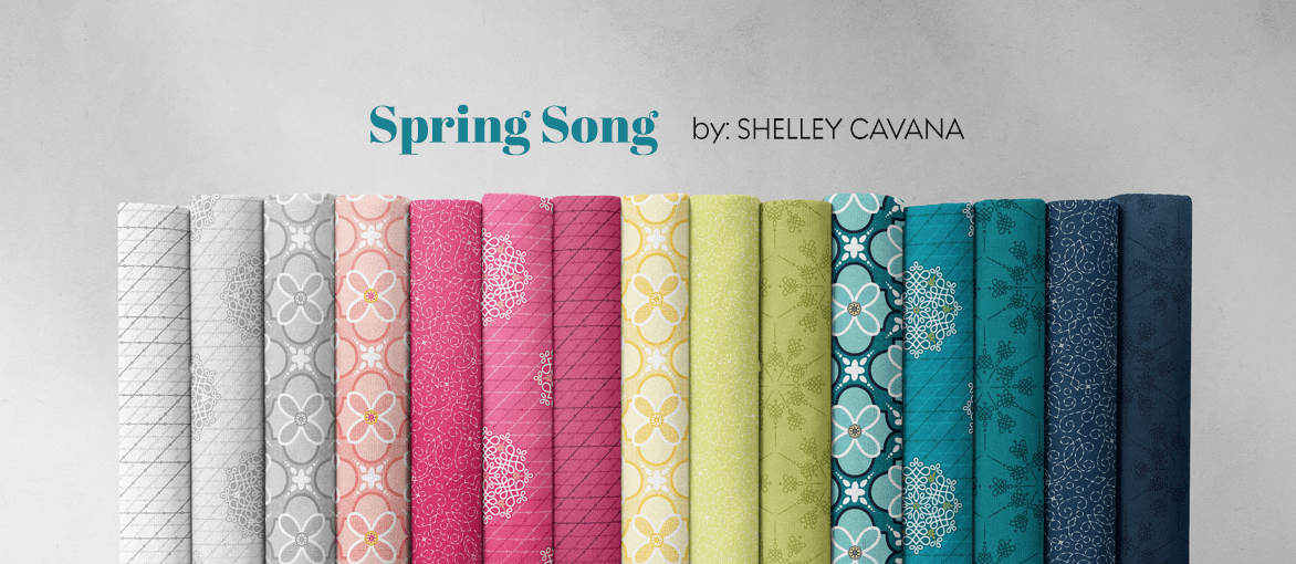 Spring Song by Shelley Cavana