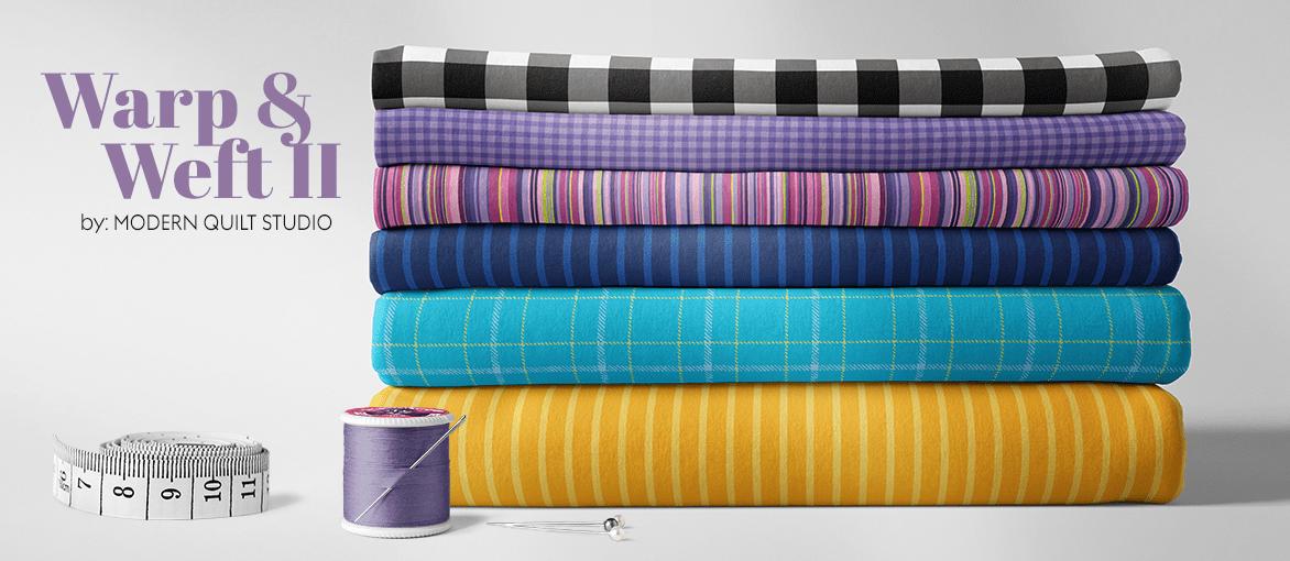 Warp and Weft 2 Premium Yarn Dyes by Modern Quilt Studio