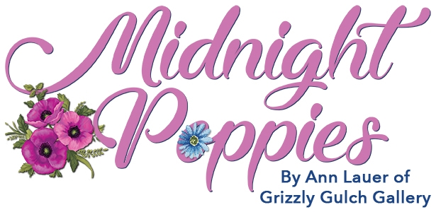 Midnight Poppies Logo